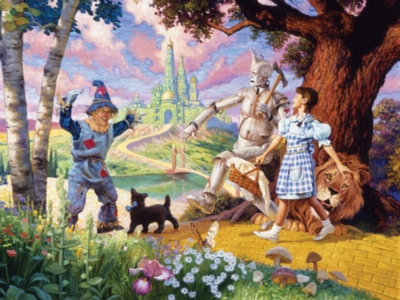 Cobble Hill Jigsaw Puzzles - The Wizard of Oz