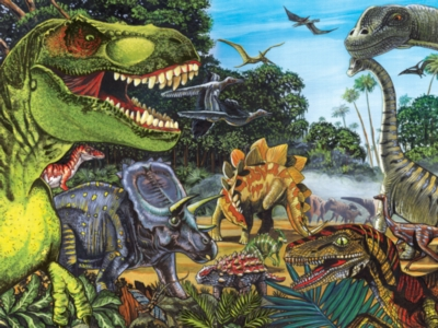 Dinosaurs Jigsaw Puzzles for Kids - Dinosaur Land