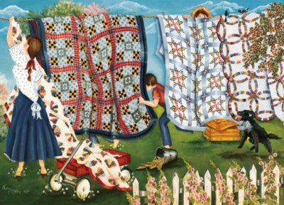 Cobble Hill Jigsaw Puzzles - Laundry Line