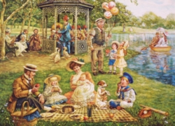 Cobble Hill Jigsaw Puzzles - Family Picnic