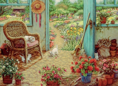 Cobble Hill Jigsaw Puzzles - The Potting Shed