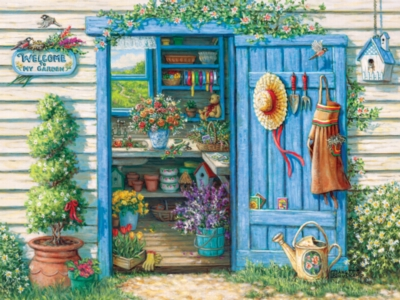 Cobble Hill Jigsaw Puzzles - Welcome to My Garden