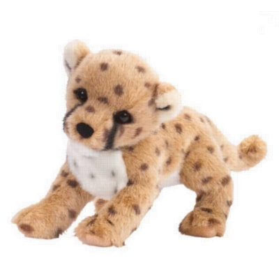 "Chillin' Cheetah Cub - 14"" Cheetah By Douglas Cuddle Toys"