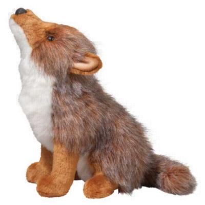 "Rambler - 11"" Coyote By Douglas Cuddle Toy"