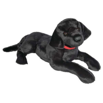 "Dickens Black Lab - 32"" Dog By Douglas Cuddle Toy"