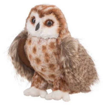 "Radar Brown Owl - 10"" Owl By Douglas Cuddle Toy"