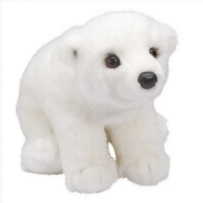"Aput - 11"" Polar Bear By Douglas Cuddle Toy"