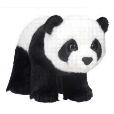 "Cookie - 11"" Panda By Douglas Cuddle Toy"