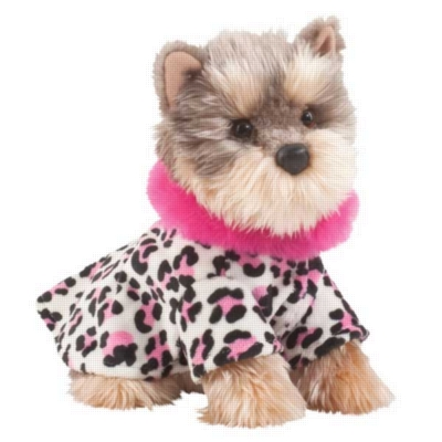 "Velvet Yorkie - 10.5"" Dog By Douglas Cuddle Toy"