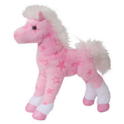 """Summer - 8"""" Horse By Douglas Cuddle Toy"""