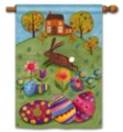 Busy Bunny - Standard Flag by Magnet Works