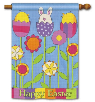 Easter Garden - Standard Flag by Magnet Works