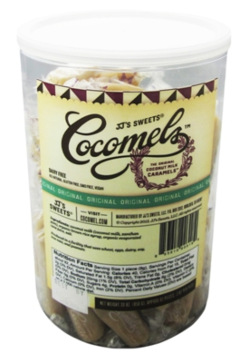 Cocomels Coconut Milk Caramels: Original - 92ct Tub