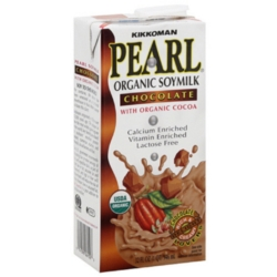 Pearl Organic Soy Milk: Chocolate - 32oz Carton Case