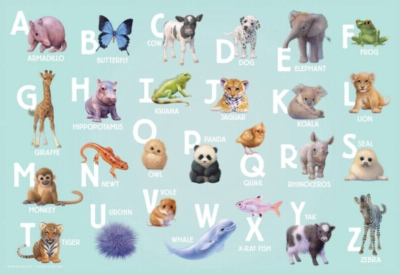 Alphabet Jigsaw Puzzles for Kids - Animal Alphabet