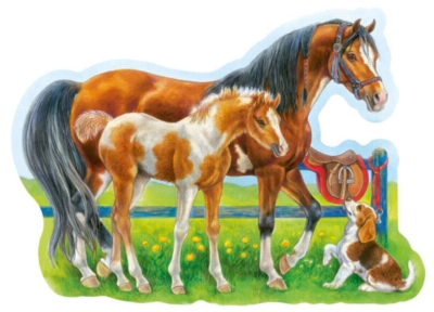 Jigsaw Puzzles for Kids - Happy Horses
