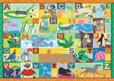 Alphabet Jigsaw Puzzles for Kids - Alpha Animals