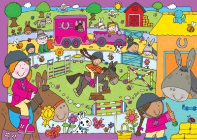 Jigsaw Puzzles for Kids - Pony Club