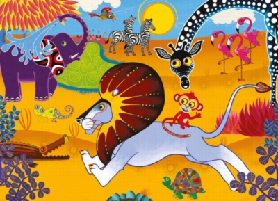 Jigsaw Puzzles for Kids - Tinga Tinga Tales™ - Go Lion Go!