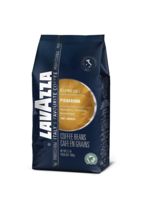 Lavazza Pienaroma - 2.2 lb. Whole Bean Espresso Bag