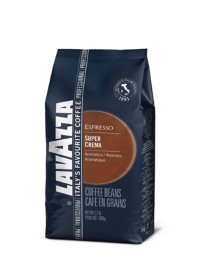Lavazza Supercrema - 2.2 lb Whole Bean Espresso Bag