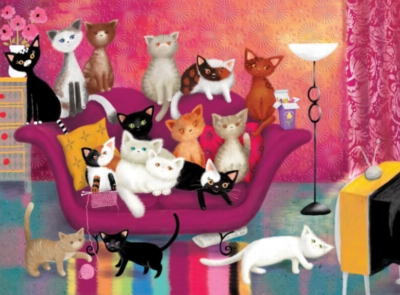 Ravensburger Jigsaw Puzzles - Kitty Couch