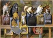 Ravensburger Large Format Jigsaw Puzzles - Cat's Got Mail