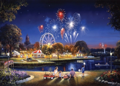 Jigsaw Puzzles - Star Spangled - Large