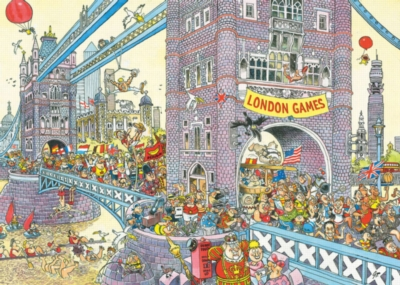 Ravensburger Jigsaw Puzzles - WASGIJ: The Final Hurdle