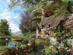 Spring Puzzles - Country Cottage