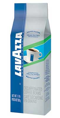 Lavazza Gran Filtro Decaf Coffee - 1.1 lb. Whole Bean Coffee Bag