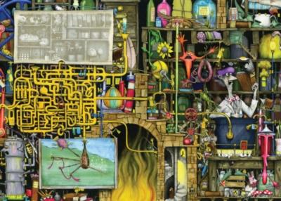 Laboratory - 1000pc Jigsaw Puzzle by Ravensburger