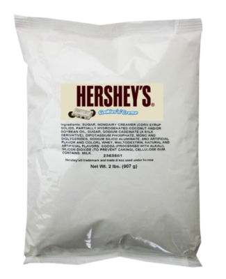 Hershey's Blended Ice Crème Powder: Cookies & Cream (Coffee Free)- 2 lb. Bulkbag