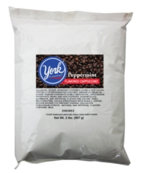 Hershey's Blended Ice Coffee Powder: York Peppermint - 2 lb. Bulkbag Case