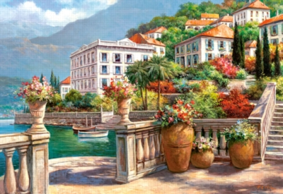 Jigsaw Puzzles - A Peaceful Oasis on the Lake