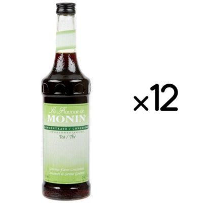 Monin Tea Concentrate - 750 ml. Glass Bottle Assorted Case