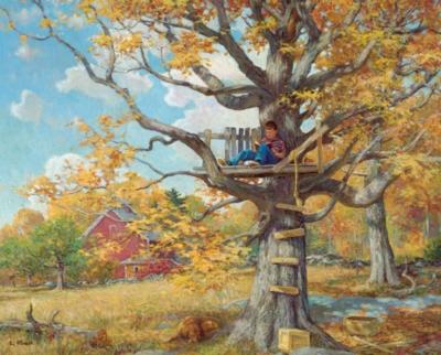 Jigsaw Puzzles - Tree House
