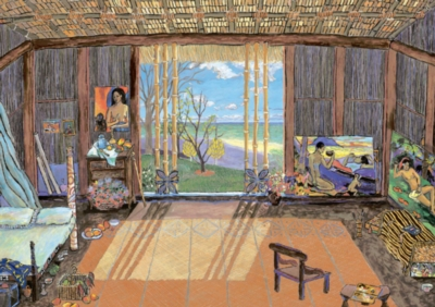 Educa Jigsaw Puzzles - Gauguin's Studio