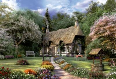 Educa Jigsaw Puzzles - Rose Cottage