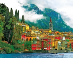 Hard Jigsaw Puzzles - Mediterranean Waterfront