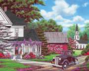 Coca-Cola Puzzles - Country