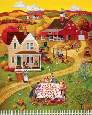 Springbok Large Format Jigsaw Puzzles - Quilting Bee's