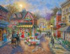 Cobblestone Village - 36pc Large Format Jigsaw Puzzle by Springbok