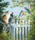 A Furry Special Delivery - 300pc Large Format Jigsaw Puzzle By Sunsout