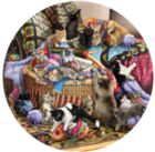 The Knitting Circle - 1000pc Round Jigsaw Puzzle By Sunsout