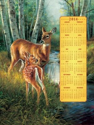 Jigsaw Puzzles - Birch Creek Family 2014 Calendar