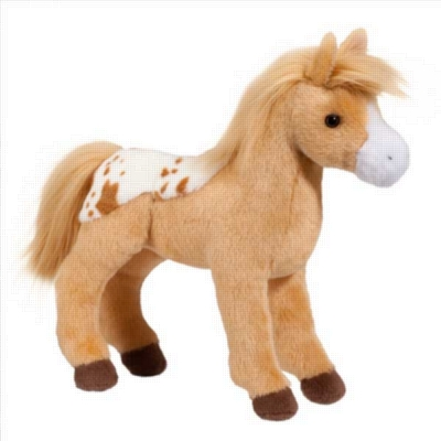 "Diana Golden Blanket Appaloosa - 10"" Horse By Douglas Cuddle Toy"