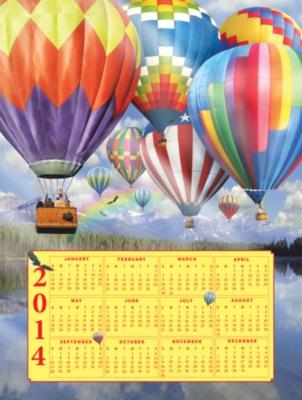 Jigsaw Puzzles - Balloon Fest 2014 Calendar