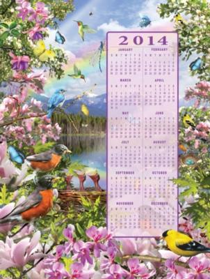 Jigsaw Puzzles - Spring 2014 Calendar