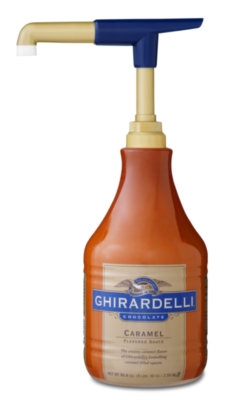 Ghirardelli Caramel Sauce - 64 oz. Bottle